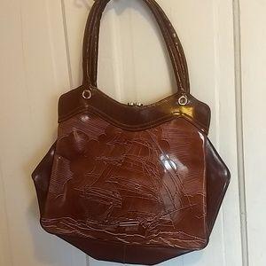 Handbags - Vintage Pirate/Merchant Ship Purse